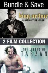 Poster for King Arthur & Legend Of Tarzan 2 Film Collection (Bundle)