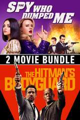 Poster for The Spy Who Dumped Me / The Hitmans's Bodyguard - 2 Movie Bundle