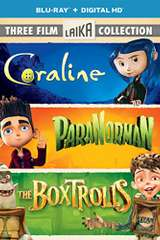 Poster for Three Film Laika Collection (Coraline / ParaNorman / The Boxtrolls) [Blu-ray]