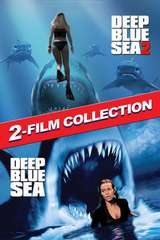 Poster for Deep Blue Sea/Deep Blue Sea 2 2-Film Bundle