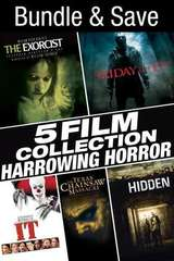 Poster for 5 Film Collection: Harrowing Horror Collection SD UV