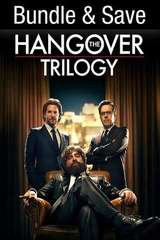 Poster for The Hangover Trilogy HD Vudu or iTunes via MA