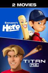 Poster for Titan A.E. + Everyone's Hero - 2 Movies