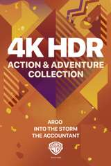 Poster for WB 4K HDR Action & Adventure Collection