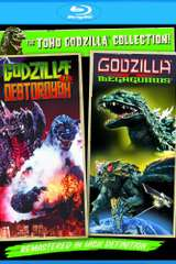 Poster for Godzilla Vs. Destoroyah / Godzilla Vs. Megaguirus: The G Annihilation Strategy - Set [Blu-ray]