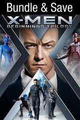 Poster for X-Men: The Beginnings Trilogy