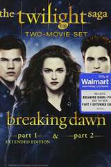 Poster for The Twilight Saga: Breaking Dawn, Parts 1 & 2 (Extended Edition) (Blu-ray + Digital Copy + Ultraviolet)