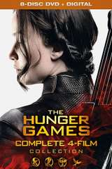Poster for The Hunger Games Complete 4 Film Collection (SD) Vudu Redeem