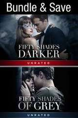 Poster for Fifty Shades 1 and 2 ITunes 4K