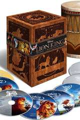 Poster for The Lion King Trilogy (Eight-Disc Combo: Blu-ray 3D / Blu-ray / DVD / Digital Copy)