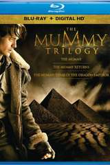 Poster for The Mummy Trilogy (Blu-ray + Digital)