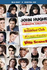 Poster for John Hughes Yearbook Collection (The Breakfast Club / Sixteen Candles / Weird Science) (Blu-ray + Digital HD)
