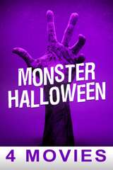 Poster for Monster Halloween 4-Movies