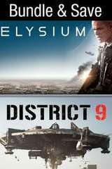 Poster for Elysium/District 9 Bundle HD (MA/Vudu)