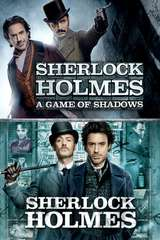 Poster for Sherlock Holmes: A Game of Shadows + Sherlock Holmes