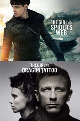 Poster for The Girl In The Spider's Web / The Girl  With The Dragon Tattoo