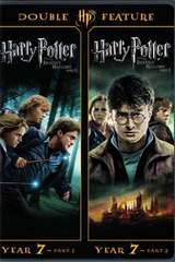 Poster for Harry Potter And The Deathly Hollows Part 1 and 2 (Walmart Exclusive) (DVD + Digital HD)