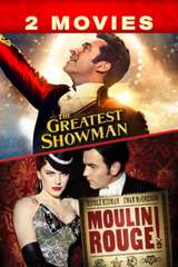 Poster for The Greatest Showman / Moulin Rouge 2-Movies