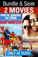 Poster for Baywatch (2017) / Pain and Gain Bundle